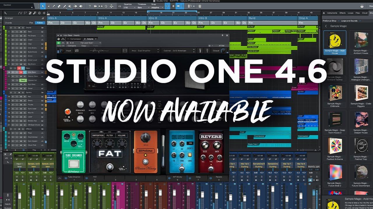 Studio One 4.6