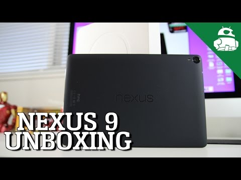 Nexus 9 Unboxing & First Impressions!