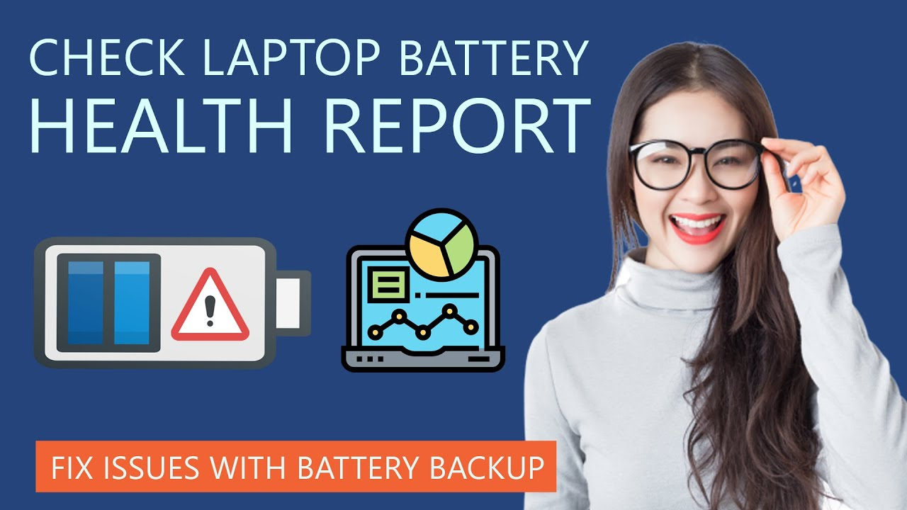How To Check Laptop Battery Health In Window 10 Youtube