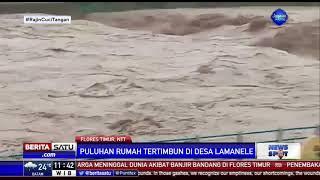 Banjir Bandang di Flores Timur Menewaskan 5 Orang