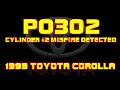 1999 Toyota Corolla P0302 Cylinder 2 Misfire Detected Youtube