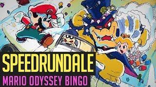 Super Mario Odyssey Speedrun-Bingo-Duell! mit Hedweg & Luckaffe1312 | Speedrundale