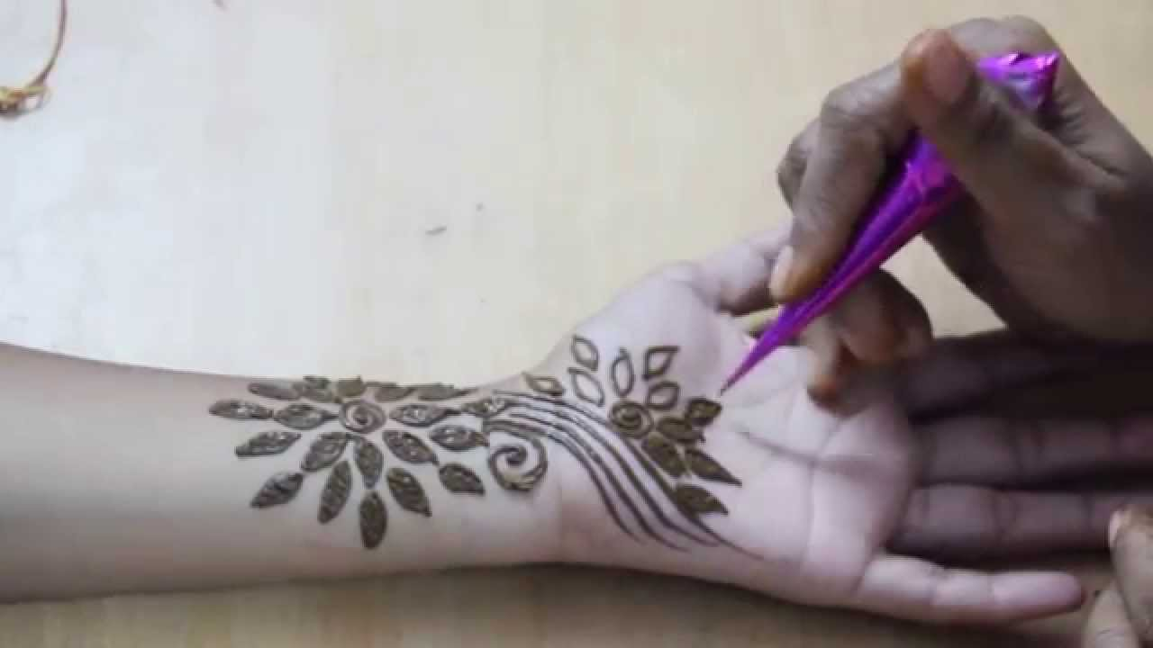 Stunning Floral Mehndi Designs for Hands 2017 - Bridal Henna ...