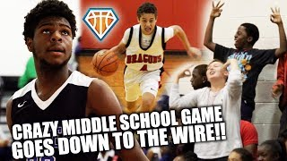CRAZY MIDDLE SCHOOL GAME GOES DOWN TO THE WIRE!! | Carver vs Don Estridge Highlights