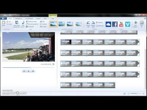 CS100 Window Movie Maker Tutorial