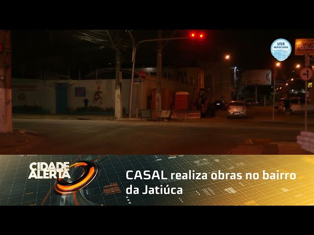 CASAL realiza obras no bairro da Jatiúca