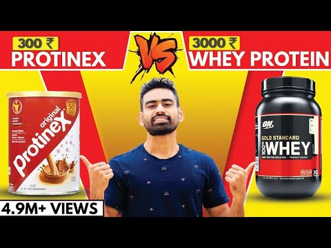 300 रु PROTINEX Vs 3000 रु WHEY PROTEIN (The Shocking Truth) | Fit Tuber Hindi