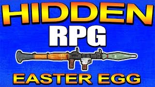 """Secret """"RPG"""" Easter Egg in Advanced Warfare - YOU CAN USE IT! (Call of Duty) COD AW 