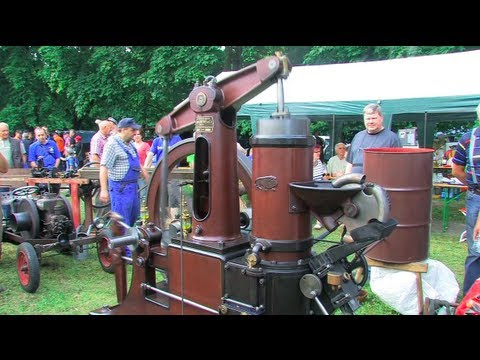 Stationärmotoren beim Bulldog Dampf & Diesel - 1/3 - Stationary Engine Rally