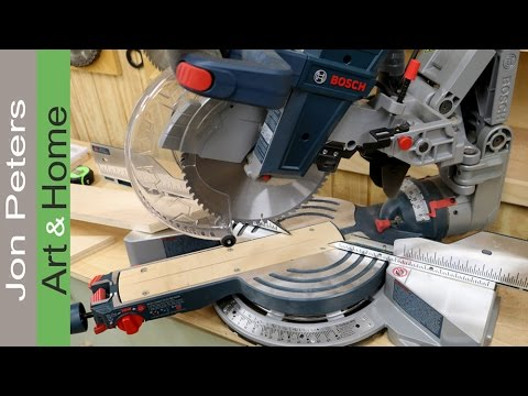 Zero Clearance Insert for Bosch Dual Bevel Glide Miter Saw