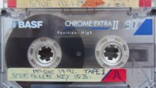 Stu Allan Key 103   19th December 1992   Side A