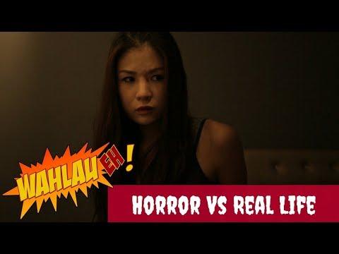 HORROR VS REAL LIFE | Wahlau Eh! S2 #5 | Happy-TV