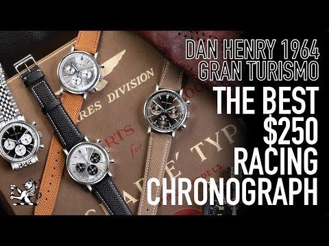 The Ultimate 38mm Racing $250 Chronograph  Dan Henry 1964