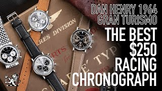 "The Ultimate 38mm Racing $250 Chronograph - Dan Henry 1964 ""Gran Turismo"" Watch Review"