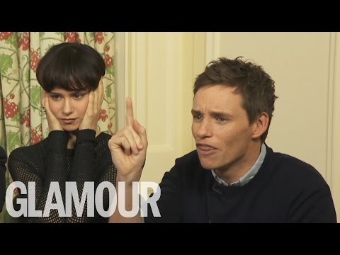 Eddie Redmayne, Ezra Miller and 'Fantastic Beasts and Where To Find Them' Cast Live | Glamour UK