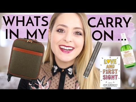 What's In My Carry On? | Fleur De Force