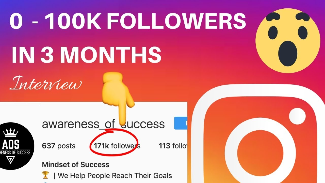 100k Instagram Followers In 3 Months | Growing A Motivational Quotes Page  Interview With Gilad