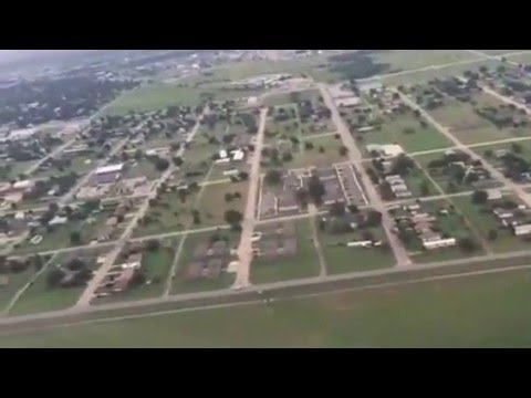 American Airlines Takeoff LAW Lawton–Fort Sill Regional Airport
