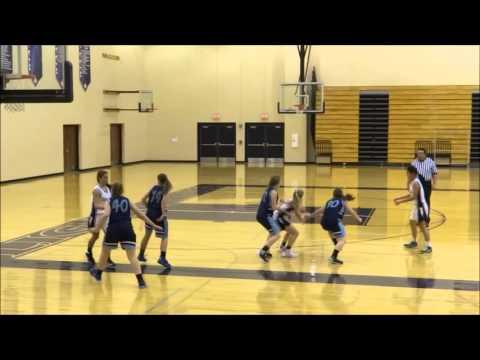 Lakeside Lutheran Frosh Girls Basketball at Lake Country Lutheran High School   December 11, 2015