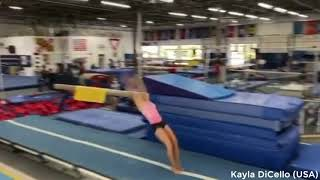 Jade Carey, Simone Biles, Chellsie Memmel & More in Training 2020