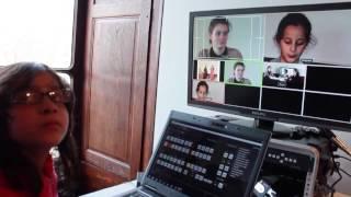 Formation vidéo - plateau télé - pour jeune public