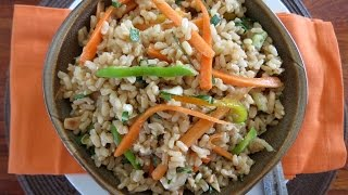 Brown Rice Salad -- The Frugal Chef