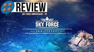 Sky Force Anniversary for PC Video Review