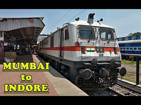 Mumbai-Indore DURONTO Express : A Complete Journey (Indian Railways)