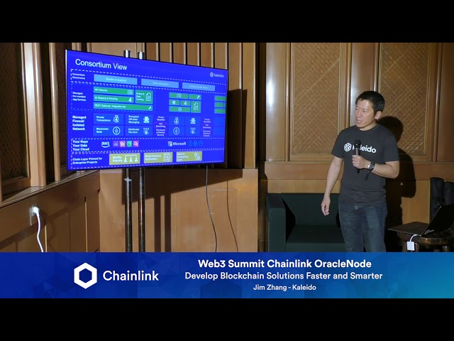 Chainlink Web3 Summit HackerNode: Develop Blockchain Solutions Faster and Smarter