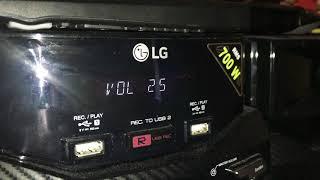 LG CM4550 700WATTS! PLUG WALK BASS BOOSTED