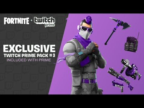 NEW TWITCH PRIME PACK 3 LEAKED! FORTNITE TWITCH PRIME PACK 3 RELEASE DATE! (FREE PRIME PACK 3 SKINS)
