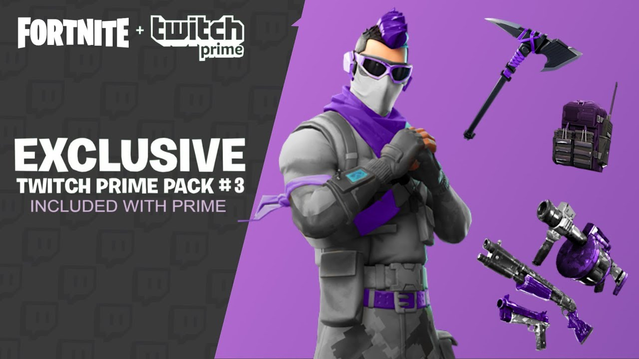 New Twitch Prime Pack 3 Leaked Fortnite Twitch Prime Pack 3 Release Date Free Prime Pack 3 Skins Youtube