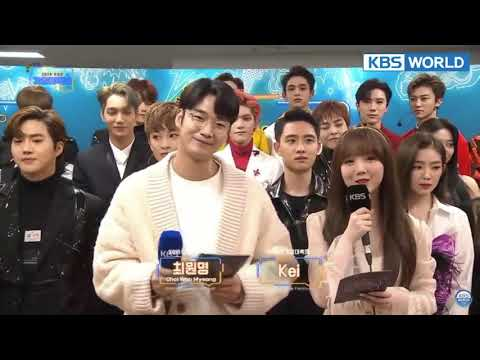 SMTown Artists  - KBS Song Festival 2018