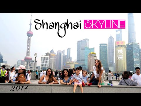 SHANGHAI skyline! Bond China Vlog 2017