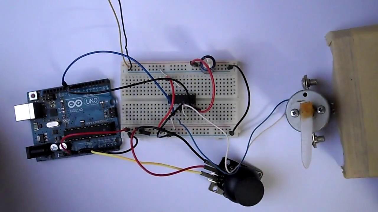 arduino joystick dc motor control | motorcyclepict co