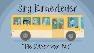 Die Räder vom Bus - Kinderlieder zum Mitsingen | Sing Kinderlieder