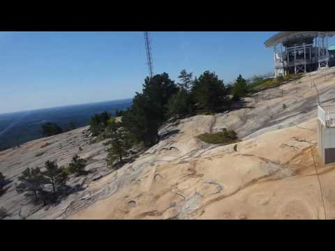Stone Mountain adventure in Georgia, USA