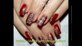Литье на ногтях (Casting on nails)