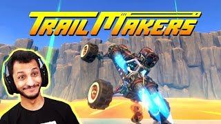 اصنع مركبتك | وتستمر رحلتنا الاستكشافيه!! TrailMakers