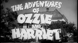 The Adventures of Ozzie and Harriet |The Traffic Signal(Season1) real-life Nelson family1952-1966