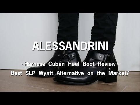 Alessandrini Harness Cuban Heel Boot   Best SLP Wyatt Alternative in the Market?