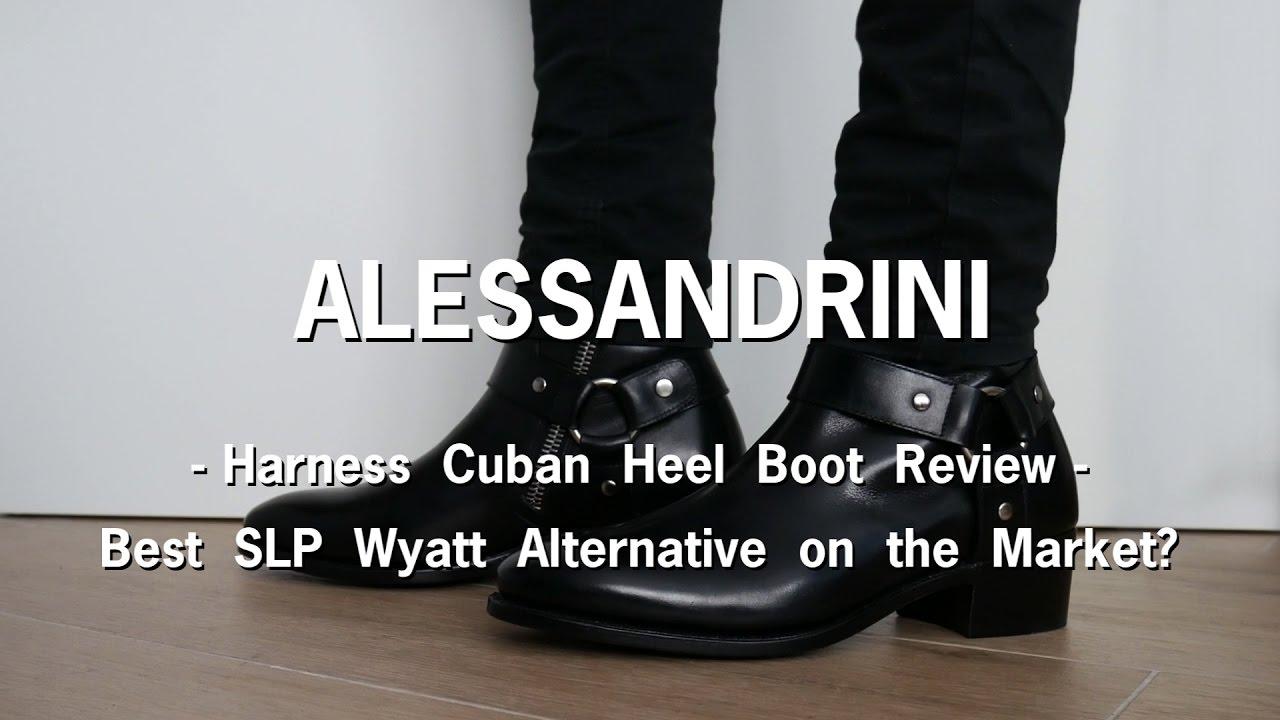 567e0b9fbca Alessandrini Harness Cuban Heel Boot Review - Best SLP Wyatt Alternative in  the Market?