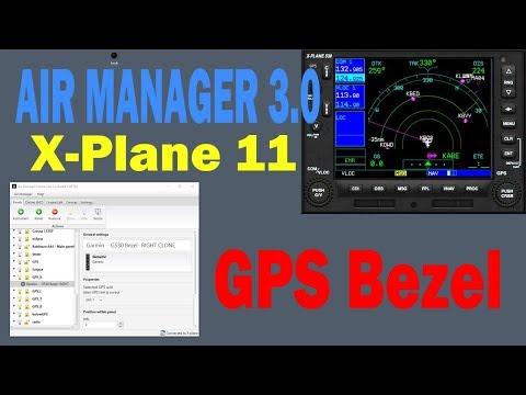 Air Manager  3.0 GPS Bezel