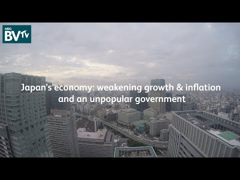 Japan: weakening growth and inflation, and an unpopular government.