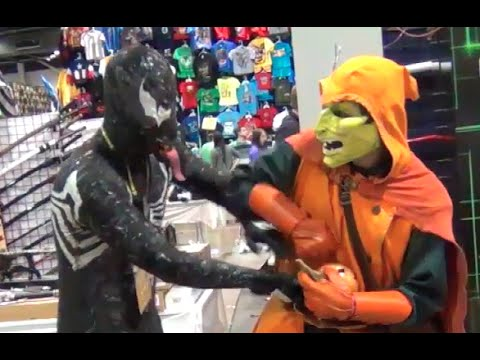 Venom Vs Hobgoblin Talking Trash Spider Man Parody Real Life Super Villain Spoof Youtube