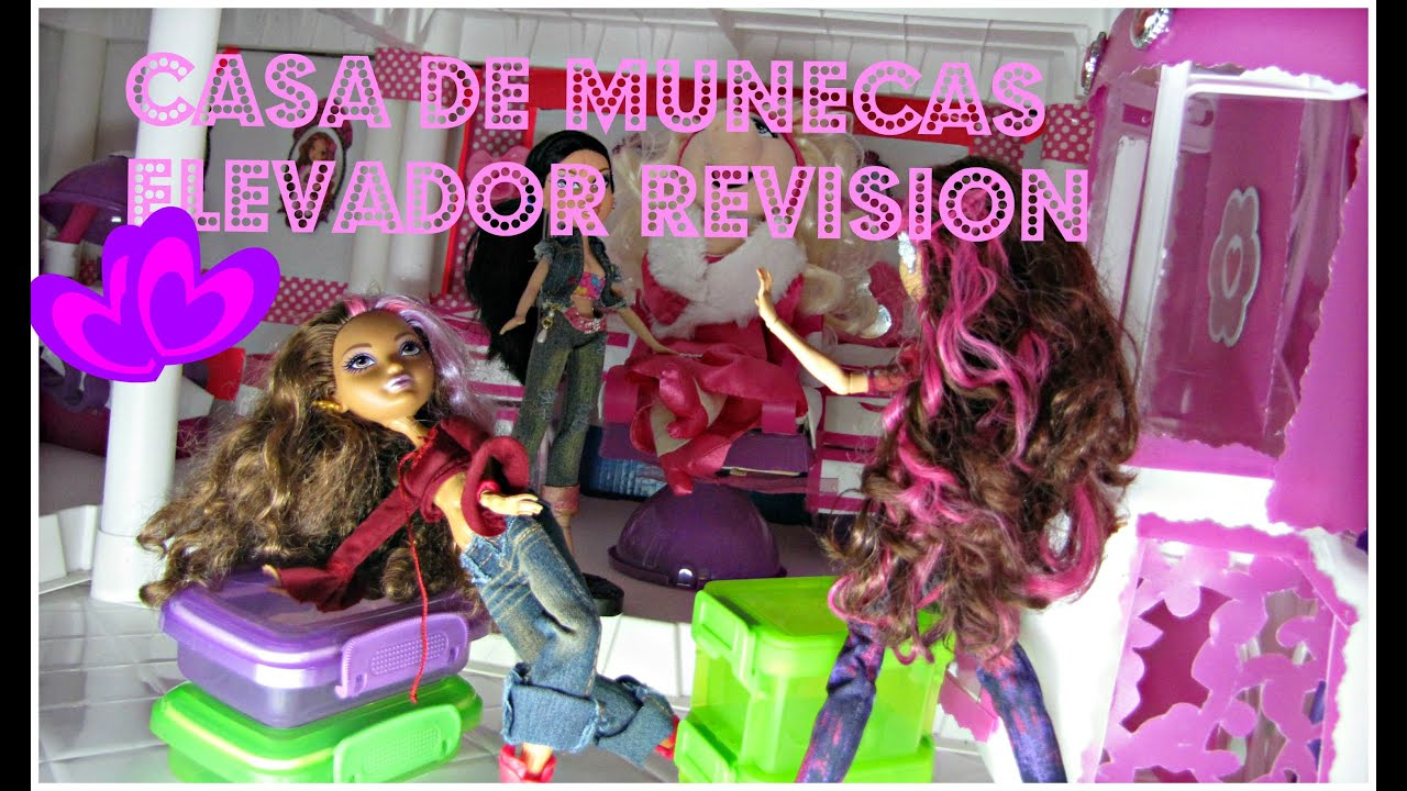 Casa de munecas el elevador pte 1 bratz ever after - Casa de barbie ...