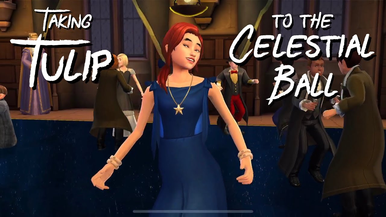 Taking Tulip To The Celestial Ball Harry Potter Hogwarts Mystery Youtube