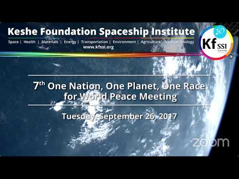 7th One Nation One Planet One Race for World Peace, Sept 26, 2017