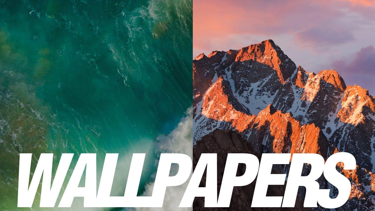 macOS Sierra Wallpaper Download