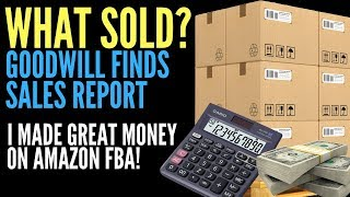 Goodwill Finds I Sold on Amazon FBA for HUGE PROFIT!